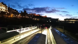 Edinburgh Castle - dusk
